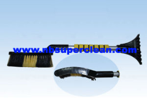 Plastic Car Ice Scraper Snow Brush with EVA Handle (CN2283) pictures & photos
