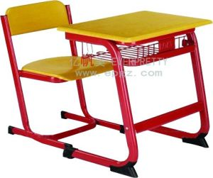 School Double Desk and Chair Wholesale in Africa and MID East pictures & photos