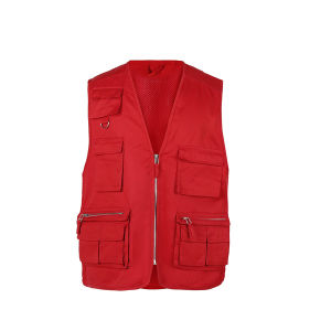 Sleeveless Multicolor V Neck Outdoorspoty Vest pictures & photos