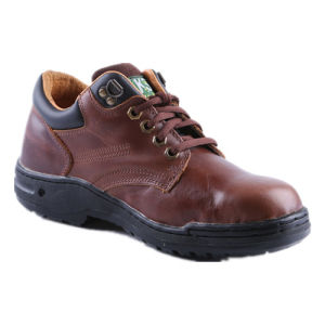Natual Rubber Outsole Air-Pad Breatherable Safety Footwear