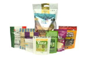 Customized Plastic Pet Food Packaging Ziplock/Zipper Bag