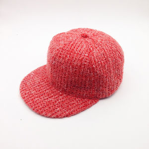 High Quality Knitted Warm Outdoor Plain Custom Winter Snapback Cap pictures & photos