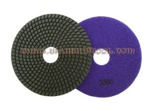 6′′ High Quality Wet Polishing Pads for Granite pictures & photos