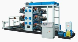 Continuous Printing Machine for PP Woven Bag