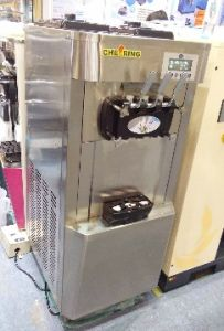 Junjian Pre- Cooling Air-Pump Double Compressor Ice Cream Machine pictures & photos