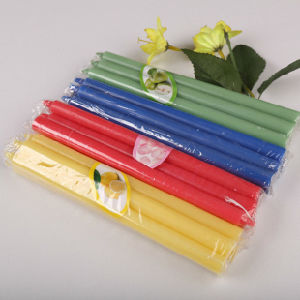High Quality and Cheap Homemade Color Candles pictures & photos