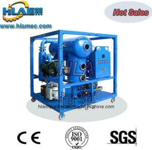 Black Turbine Oil Vacuum Demulsification Oil Filtration Machine pictures & photos