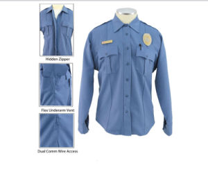 Workwear White Comfortable Security Guard Shirt pictures & photos