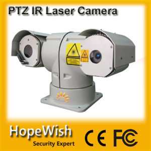 Vehicle Mount Laser PTZ Camera with IR Distance 300meter pictures & photos