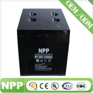 Deep Cycle Solar Battery (2V2000ah) (UL, CE, ISO9001, ISO14001)