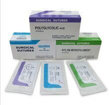 Medical Supply, Surgical Suture PGA, Polyglycolic Acid USP0# pictures & photos