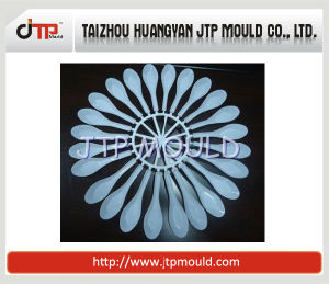 High Gloss Core Mould of 16 Cavities Plastic Spoon Mould pictures & photos