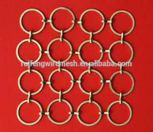 Decorative Metal Ring Mesh Curtain Made in China pictures & photos