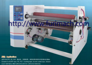 Furimach Automatic BOPP Adhesive Tape Rewinding Machine/Stretch Film Jumbo Roll Rewinder Machinery/PE/PVC/Masking Tape/Masking Tape/Roll Paper pictures & photos
