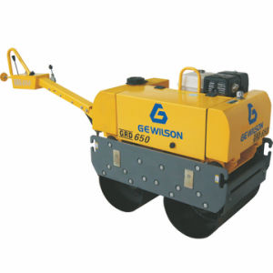 Small Double Drum Vibratory Roller with Electric Start 186f Diesel Engine pictures & photos