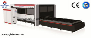 500W Exchange Platform Fiber Laser Cutting Machine 1-3mm Ss pictures & photos