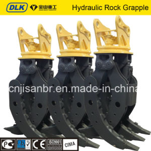 Strong Heavy Duty Hydraulic Rock Grapple for 30-40tons Excavator pictures & photos