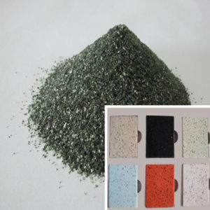 Green Quartz/Silica Sand for Counter Top pictures & photos