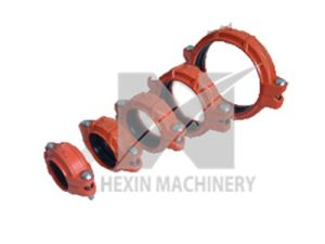 Ductile Cast Iron Grooved Pipe Fittings with Sand Casting pictures & photos