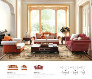 High Quality Fabric Sofa Set for Home Hotel Apartment pictures & photos