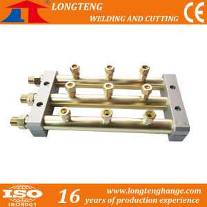3 Outlet Gas Distributors for CNC Flame Cutting Machine pictures & photos
