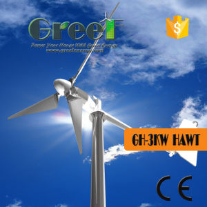 3kw Horizontal Axis Wind Turbine with Ce pictures & photos
