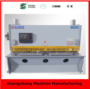 QC12y/K 10X6000 Hydraulic Shearing Machine Tool with Ceand ISO