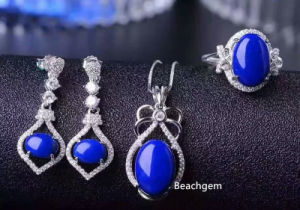 Fashion Natural Lapis Jewellery Set (S2658) pictures & photos