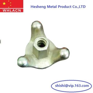 Construction Hardware Casting Formwork Three Claws Tie Nuts pictures & photos