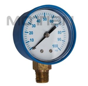 2 Inch Steel Plastic Digital Pressure Gauge with Safety Requirement