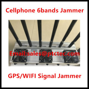 6bands Powerful Cellphone Jammer GPS Jammer pictures & photos