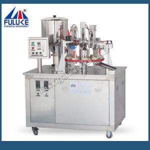 Semi-Automatic Face Cream Tube Filling and Sealing Machine pictures & photos