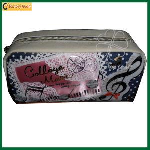 Custom Cute Canvas Pouch Zipper Pencil/ Pen Bag (TP-PCB002) pictures & photos