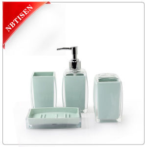 Acrylic/Plastic Bathroom Accessories Set (TS8011-4)