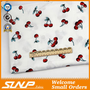 Cotton Yarn Dyed T-Shirt Fabric with Printing