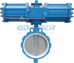 Lug Type Pneumatic Butterfly Valve (concentric butterfly valve) pictures & photos