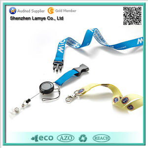Promotional Cheap Custom Woven Lanyard