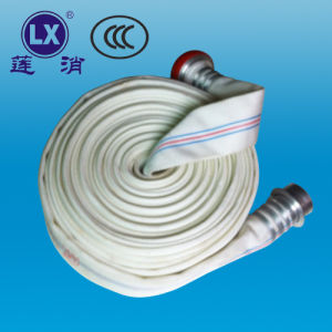 "Fire Hose Synthetic 2.5""PVC Lining Fire Hose Fire Products Engineering Fire Hose pictures & photos"