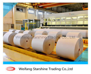 55-60g White Woodfree Offset Paper for Printing & Packing pictures & photos