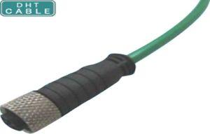 OEM Custom Straight M12 Outdoor Waterproof Cable Female High Speed