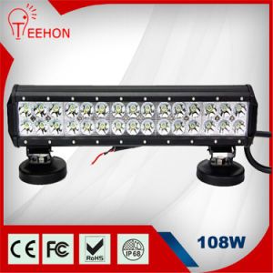 Waterproof LED Light Bar 108W Spot Flood LED Light Bar for All General Cars pictures & photos