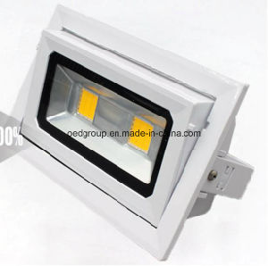 40W 3600lm LED Recessed Shopfitter Rectangular LED Light pictures & photos