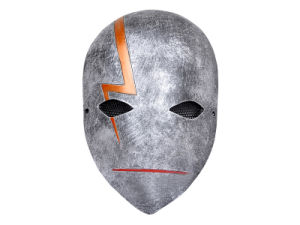 ′numen′fiberglass Metal Mesh ′darker Than Black′ Full Face Cosplay Mask pictures & photos