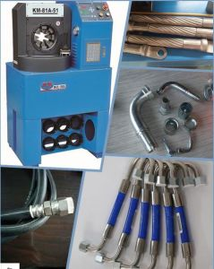 "Updated 2"" Hydraulic Hose Crimping Press Machine for Agricultural Machinery Industry pictures & photos"