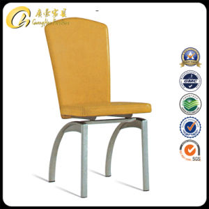 Dining Metal Leather Chair (F-010)