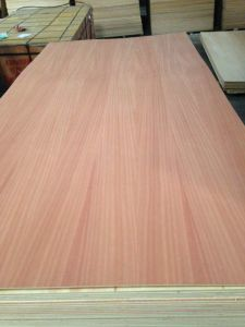 Factory-Natural Fancy Sapele Plywood in 4.6mm 12mm 15mm pictures & photos