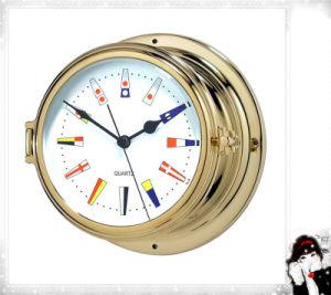 Nautical Quartz Clock Signal Flag Dial 180mm Numerals pictures & photos