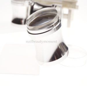 Metal Nail Art Jelly Stamper Silicone Beauty Tool Set (SNA23) pictures & photos