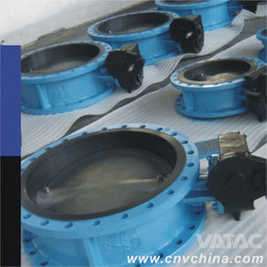 Double Eccentric PFA/PTFE Lining Steel Body Butterfly Valve pictures & photos