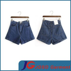 Women Denim Casual Loose Short Pants (JC6086) pictures & photos